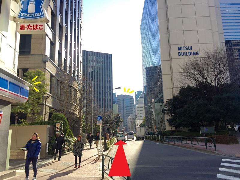 虎ノ門駅から会場アクセス2