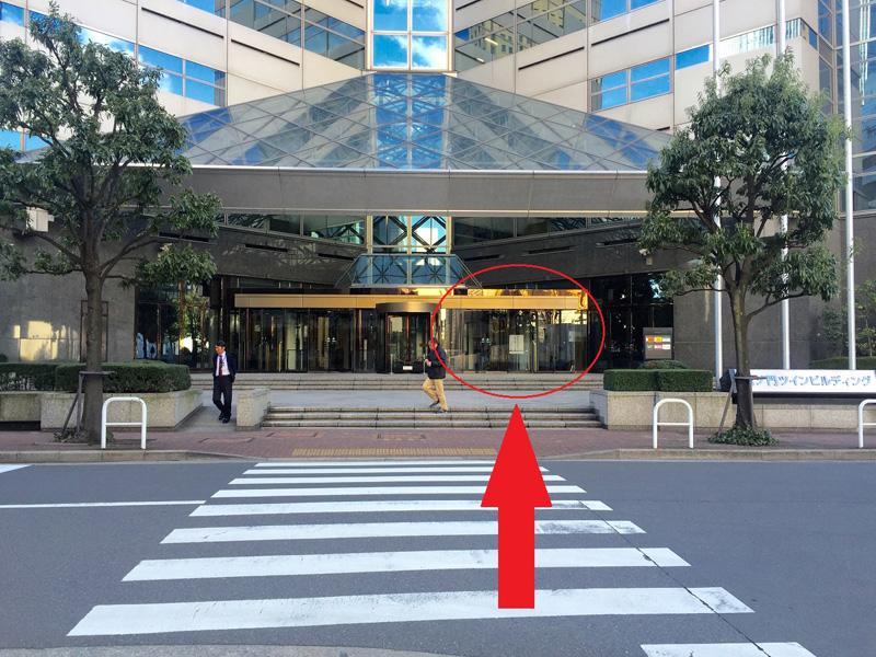 虎ノ門駅から会場アクセス4