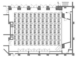 虎ノ門会議室(収容人数216名 3名掛け)画像1